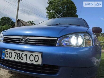Синій ВАЗ 1118, об'ємом двигуна 1.6 л та пробігом 158 тис. км за 2700 $, фото 1 на Automoto.ua