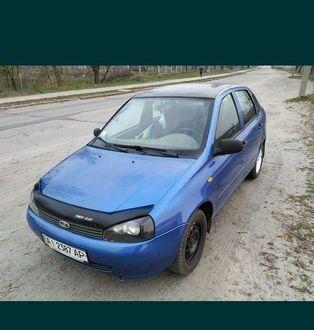 Синий ВАЗ 1118, объемом двигателя 1.6 л и пробегом 189 тыс. км за 3000 $, фото 1 на Automoto.ua