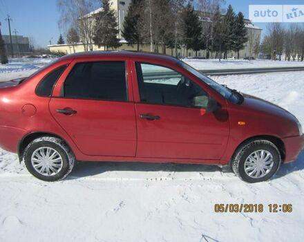 Червоний ВАЗ 1118, об'ємом двигуна 1.6 л та пробігом 182 тис. км за 2700 $, фото 1 на Automoto.ua
