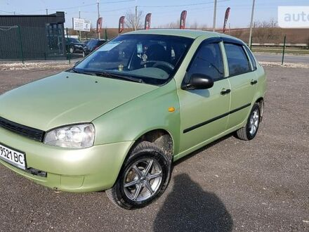 Зеленый ВАЗ 1118, объемом двигателя 1.6 л и пробегом 153 тыс. км за 2999 $, фото 1 на Automoto.ua