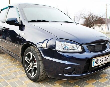 Синий ВАЗ 1119, объемом двигателя 1.6 л и пробегом 85 тыс. км за 3499 $, фото 1 на Automoto.ua
