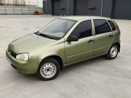 Зеленый ВАЗ 1119, объемом двигателя 1.6 л и пробегом 81 тыс. км за 4000 $, фото 1 на Automoto.ua