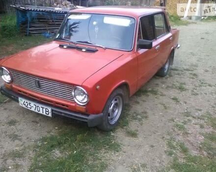 Красный ВАЗ 2101, объемом двигателя 1.3 л и пробегом 98 тыс. км за 551 $, фото 1 на Automoto.ua