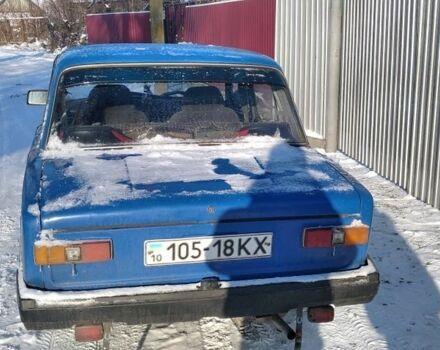 Синий ВАЗ 2101, объемом двигателя 13 л и пробегом 64 тыс. км за 354 $, фото 1 на Automoto.ua