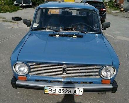 Синий ВАЗ 2101, объемом двигателя 1.2 л и пробегом 65 тыс. км за 1289 $, фото 1 на Automoto.ua