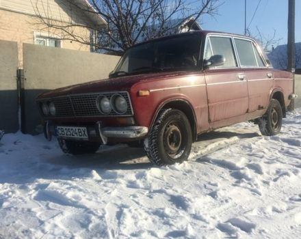 Вишнёвый ВАЗ 2103, объемом двигателя 1.3 л и пробегом 170 тыс. км за 532 $, фото 1 на Automoto.ua