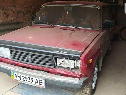 Красный ВАЗ 2104, объемом двигателя 1.45 л и пробегом 101 тыс. км за 1120 $, фото 1 на Automoto.ua