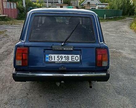 Синій ВАЗ 2104, об'ємом двигуна 1.5 л та пробігом 100 тис. км за 2100 $, фото 1 на Automoto.ua