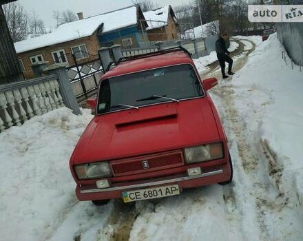 Красный ВАЗ 2104, объемом двигателя 1.5 л и пробегом 152 тыс. км за 1300 $, фото 1 на Automoto.ua