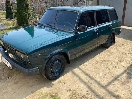 Зелений ВАЗ 2104, об'ємом двигуна 1.5 л та пробігом 123 тис. км за 1200 $, фото 1 на Automoto.ua