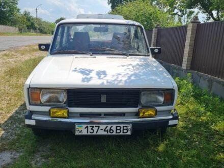 Белый ВАЗ 2105, объемом двигателя 1.3 л и пробегом 1 тыс. км за 1100 $, фото 1 на Automoto.ua