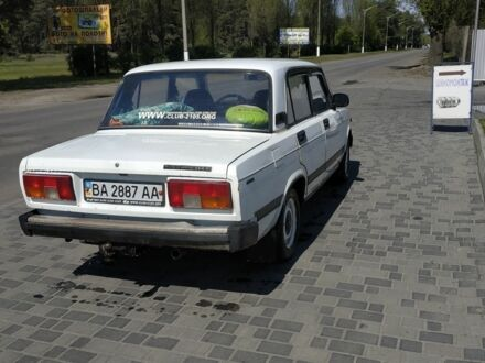 Білий ВАЗ 2105, об'ємом двигуна 1.5 л та пробігом 1 тис. км за 1200 $, фото 1 на Automoto.ua