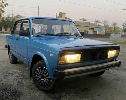 Голубий ВАЗ 2105, об'ємом двигуна 1.2 л та пробігом 44 тис. км за 2750 $, фото 1 на Automoto.ua