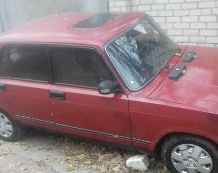 Червоний ВАЗ 2105, об'ємом двигуна 1.2 л та пробігом 100 тис. км за 596 $, фото 1 на Automoto.ua