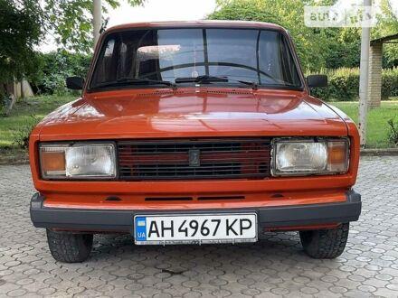 Красный ВАЗ 2105, объемом двигателя 1.2 л и пробегом 131 тыс. км за 1400 $, фото 1 на Automoto.ua