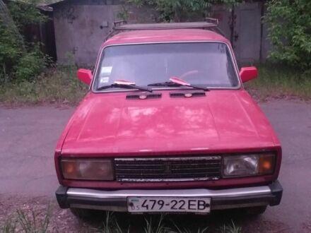 Красный ВАЗ 2105, объемом двигателя 1.3 л и пробегом 1 тыс. км за 746 $, фото 1 на Automoto.ua
