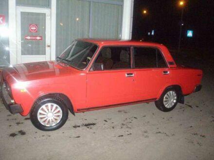 Красный ВАЗ 2105, объемом двигателя 1.3 л и пробегом 55 тыс. км за 2000 $, фото 1 на Automoto.ua