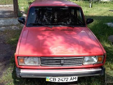 Красный ВАЗ 2105, объемом двигателя 1.3 л и пробегом 200 тыс. км за 750 $, фото 1 на Automoto.ua