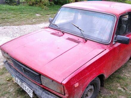Красный ВАЗ 2105, объемом двигателя 1.6 л и пробегом 67 тыс. км за 559 $, фото 1 на Automoto.ua