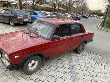 Красный ВАЗ 2105, объемом двигателя 1.5 л и пробегом 95 тыс. км за 1500 $, фото 1 на Automoto.ua