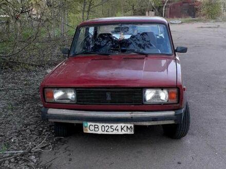 Красный ВАЗ 2105, объемом двигателя 1.3 л и пробегом 100 тыс. км за 900 $, фото 1 на Automoto.ua