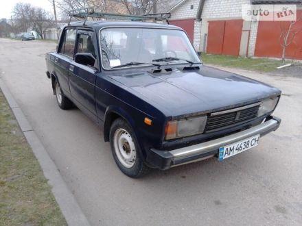 Синий ВАЗ 2105, объемом двигателя 1.3 л и пробегом 27 тыс. км за 1050 $, фото 1 на Automoto.ua