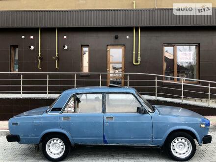 Синий ВАЗ 2105, объемом двигателя 1.2 л и пробегом 10 тыс. км за 1500 $, фото 1 на Automoto.ua