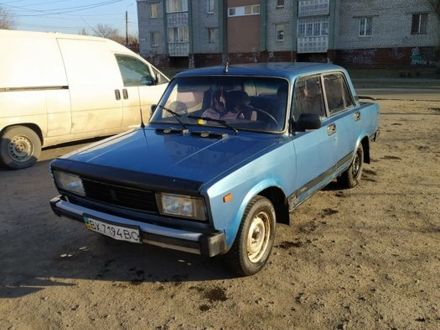 Синий ВАЗ 2105, объемом двигателя 1.5 л и пробегом 87 тыс. км за 873 $, фото 1 на Automoto.ua