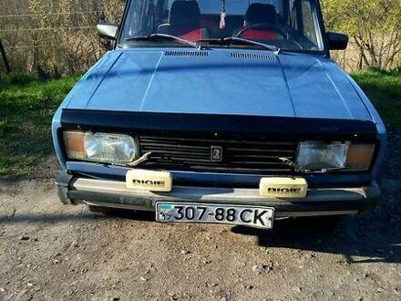 Синій ВАЗ 2105, об'ємом двигуна 1.2 л та пробігом 89 тис. км за 1200 $, фото 1 на Automoto.ua