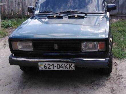 Зеленый ВАЗ 2105, объемом двигателя 1.5 л и пробегом 1 тыс. км за 1200 $, фото 1 на Automoto.ua