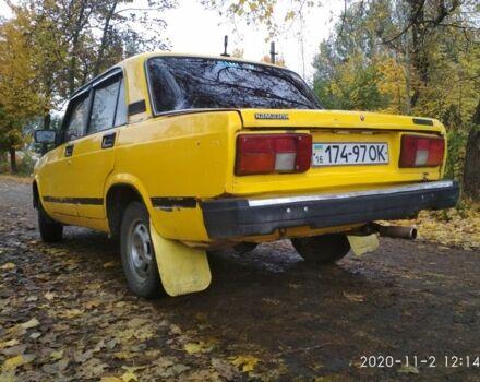 Оранжевый ВАЗ 2105, объемом двигателя 1.2 л и пробегом 1 тыс. км за 750 $, фото 1 на Automoto.ua