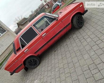 Красный ВАЗ 2106, объемом двигателя 1.3 л и пробегом 95 тыс. км за 800 $, фото 1 на Automoto.ua