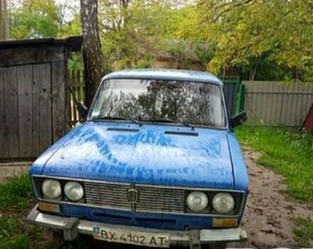 Синий ВАЗ 2106, объемом двигателя 1.3 л и пробегом 90 тыс. км за 1100 $, фото 1 на Automoto.ua