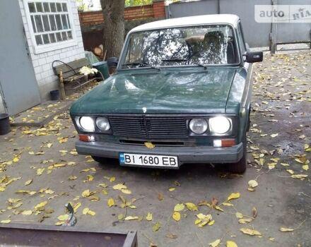 Зеленый ВАЗ 2106, объемом двигателя 1.3 л и пробегом 48 тыс. км за 800 $, фото 1 на Automoto.ua