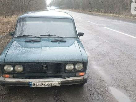 Зеленый ВАЗ 2106, объемом двигателя 1.5 л и пробегом 240 тыс. км за 1250 $, фото 1 на Automoto.ua