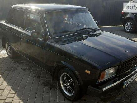 Черный ВАЗ 2107, объемом двигателя 1.5 л и пробегом 130 тыс. км за 1500 $, фото 1 на Automoto.ua