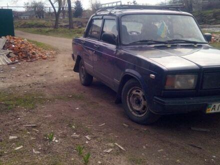 Фіолетовий ВАЗ 2107, об'ємом двигуна 1.6 л та пробігом 1 тис. км за 850 $, фото 1 на Automoto.ua