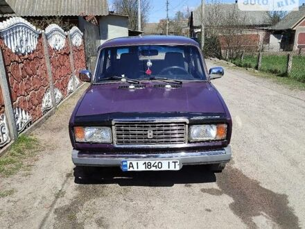 Фіолетовий ВАЗ 2107, об'ємом двигуна 1.6 л та пробігом 126 тис. км за 1300 $, фото 1 на Automoto.ua