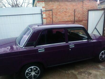 Фіолетовий ВАЗ 2107, об'ємом двигуна 1.5 л та пробігом 55 тис. км за 2700 $, фото 1 на Automoto.ua