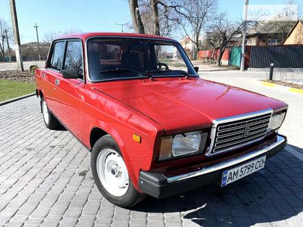 Червоний ВАЗ 2107, об'ємом двигуна 1.5 л та пробігом 160 тис. км за 2250 $, фото 1 на Automoto.ua