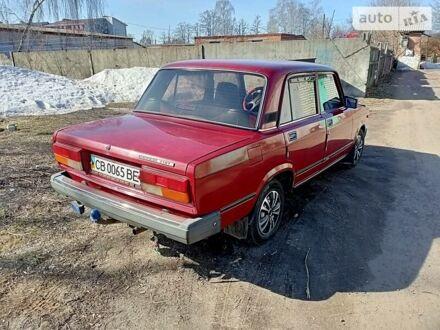 Красный ВАЗ 2107, объемом двигателя 0 л и пробегом 149 тыс. км за 2450 $, фото 1 на Automoto.ua