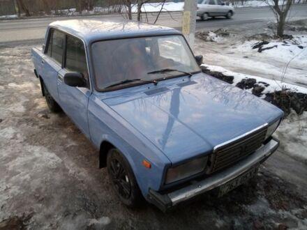 Синій ВАЗ 2107, об'ємом двигуна 1.5 л та пробігом 100 тис. км за 1250 $, фото 1 на Automoto.ua