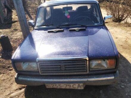 Синий ВАЗ 2107, объемом двигателя 1.5 л и пробегом 89 тыс. км за 1250 $, фото 1 на Automoto.ua