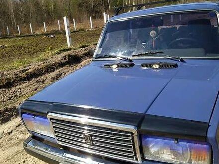 Синий ВАЗ 2107, объемом двигателя 1.5 л и пробегом 41 тыс. км за 2200 $, фото 1 на Automoto.ua