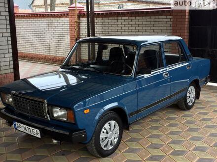 Синий ВАЗ 2107, объемом двигателя 1.6 л и пробегом 68 тыс. км за 2550 $, фото 1 на Automoto.ua