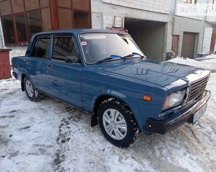 Синий ВАЗ 2107, объемом двигателя 1.6 л и пробегом 78 тыс. км за 2700 $, фото 1 на Automoto.ua
