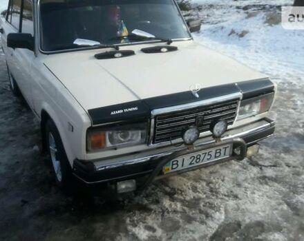 Бежевий ВАЗ 2107, об'ємом двигуна 1.5 л та пробігом 80 тис. км за 1650 $, фото 1 на Automoto.ua