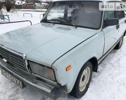 Сірий ВАЗ 2107, об'ємом двигуна 1.6 л та пробігом 200 тис. км за 900 $, фото 1 на Automoto.ua
