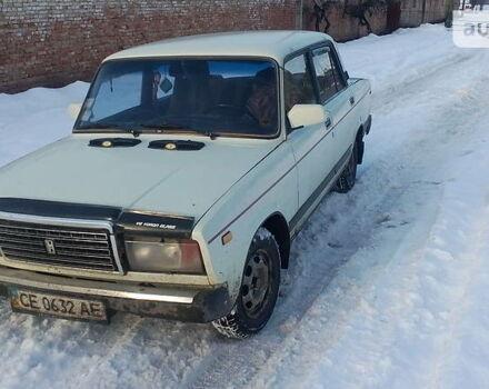 Білий ВАЗ 2107, об'ємом двигуна 1.5 л та пробігом 345 тис. км за 1000 $, фото 1 на Automoto.ua