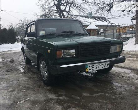 Зелений ВАЗ 2107, об'ємом двигуна 1.5 л та пробігом 1 тис. км за 1350 $, фото 1 на Automoto.ua
